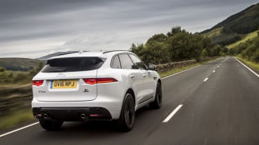 Despite its bulk, it still drives like a sports car with a range of powerful petrol and diesel engines