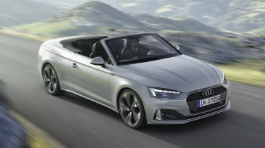 Audi A5 Cabriolet driving