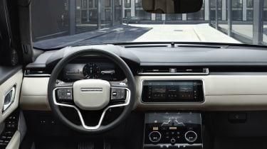 2021 Range Rover Velar P400e plug-in hybrid interior