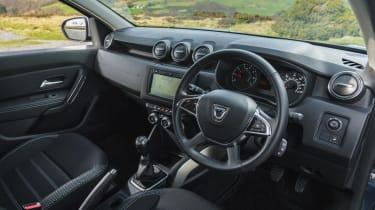 Dacia Duster Prestige interior