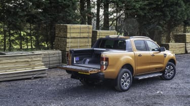 2019 Ford Ranger Wildtrak - rear 3/4 static at work