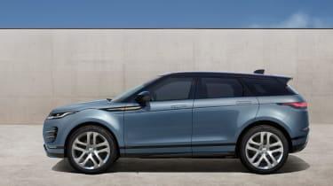 New Range Rover Evoque 2019 reveal side