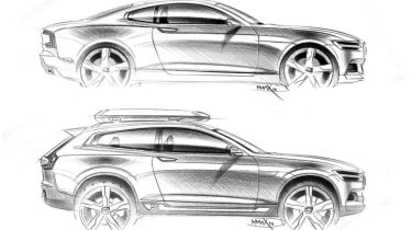 Volvo Concept XC Coupe sketches