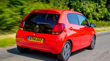 The 1.2-litre engine is a better bet than the 1.0-litre for motorway driving