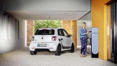 Smart EQ ForFour charging