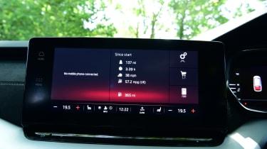 2020 Skoda Octavia Estate - infotainment touchscreen