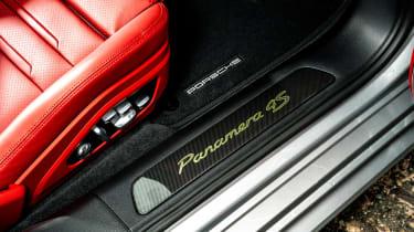 Porsche Panamera hatchback door sills
