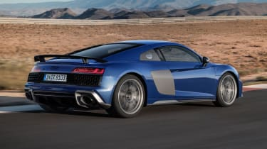 2019 Audi R8 Coupe rear