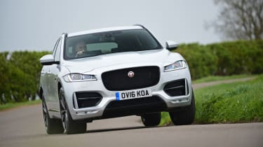 The Jaguar F-Pace is on sale now & is priced from just over £35,000