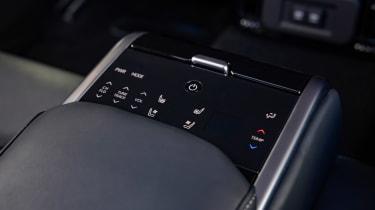 Toyota Mirai saloon switches