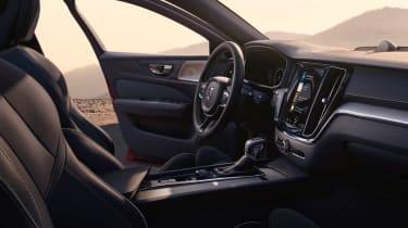 Volvo S60 R-Design interior with door open