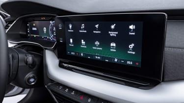 2020 Skoda Octavia touchscreen