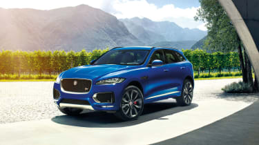 The Jaguar F-Pace is arguably the most stylish SUV ever made
