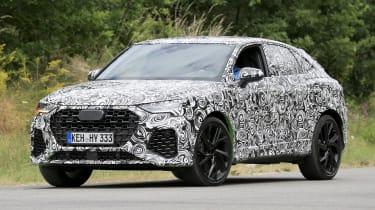 Audi RS Q3 Sportback front 3/4 dynamic prototype