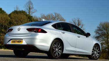 Rival cars offer more storage, but the Insignia has a long, spacious boot - though it's not that deep