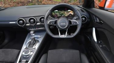 audi tt roadster convertible interior