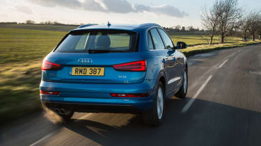 Petrol models include a 1.4 and 2.0-litre, along with a powerful 2.5-litre in the RS Q3 performance version