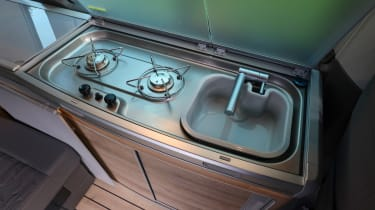 Volkswagen California sink and stove