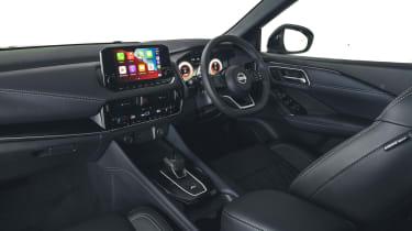 2021 Nissan Qashqai interior - wide view