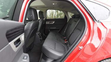 Jaguar XF - rear seating