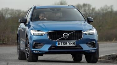 Volvo XC60 SUV front cornering