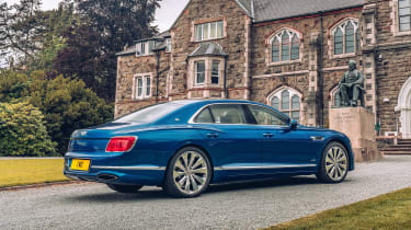 Bentley Continental Flying Spur saloon rear 3/4 static