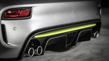 Abarth 595 Pista - 595 rear bumper