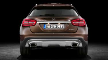 Mercedes GLA 2014 rear static