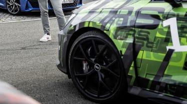 2021 Audi RS3 saloon front quarter