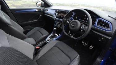 Volkswagen T-Roc R interior - side view