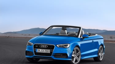 Audi A3 Cabriolet 2014 front static