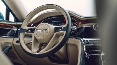 Bentley Continental Flying Spur saloon steering wheel