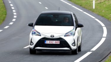 Toyota Yaris front view