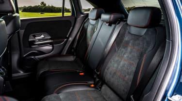 Mercedes GLA 250 e SUV rear seats
