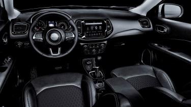 Jeep Compass Night Eagle - interior view