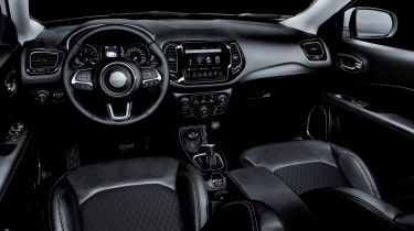 Jeep Compass Night Eagle - interior view