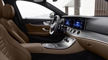 Mercedes E-Class - interior side view