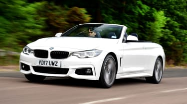 The 4 Series Convertible offers the sharpest drive in the class
