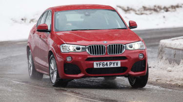 It can get the X4 from 0-62mph in 8.0 seconds and returns up to 55.4mpg