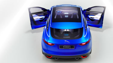 Jaguar C-X17 4x4 concept 2013 rear top