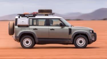 Land Rover Defender SUV desert
