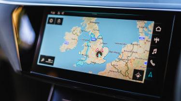 Audi e-tron SUV sat-nav