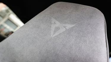 Cupra Born hatchback front seats