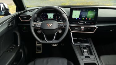 Cupra Leon hatchback interior
