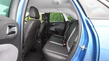 Rear passenger space is excellent, with plenty of head and knee room thanks to the upright seating position