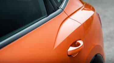 Audi Q3 Sportback SUV rear wheel arches