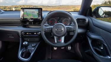 Toyota GR Yaris hatchback interior