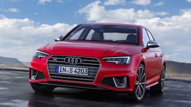 Audi S4 Saloon TDI - Front static