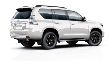 The Invincible X model tops the range, though it's over £20,000 more expensive than the cheapest Land Cruiser