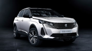 2020 Peugeot 3008 PHEV - FRONT 3/4 static